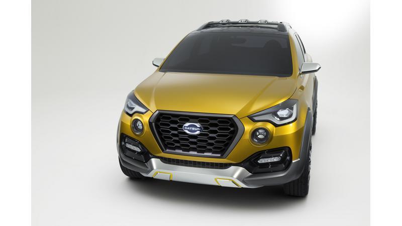 Datsun to showcase GO-CROSS at the 2016 Auto Expo