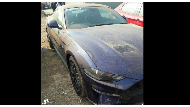 2018 Ford Mustang spotted in India