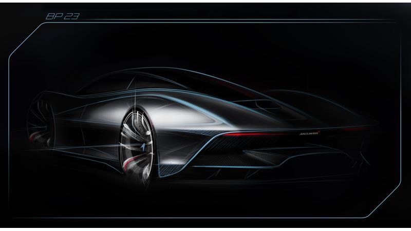 McLaren's fastest car ever, the BP23 Hyper-GT teased