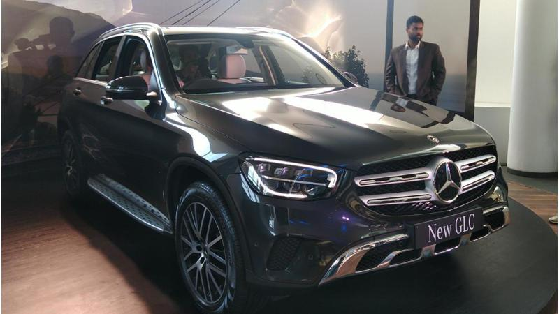 Mercedes-Benz launches the GLC-Class facelift in India at Rs 52.75 lakhs