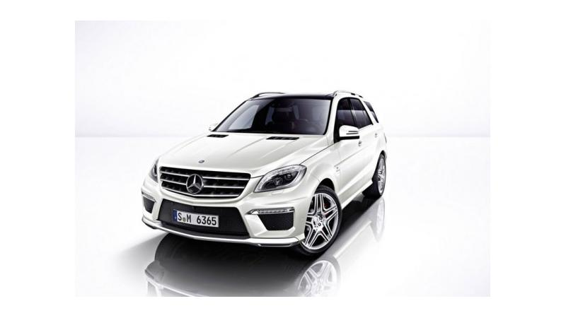 Mercedes Benz to uncover ML 63 AMG model today at Los Angeles Auto Show