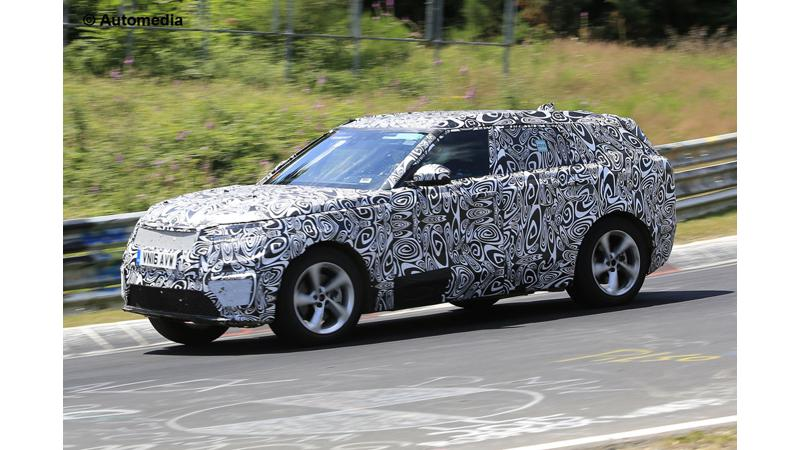 Range Rover Sport Coup   spotted at the Nurburgring
