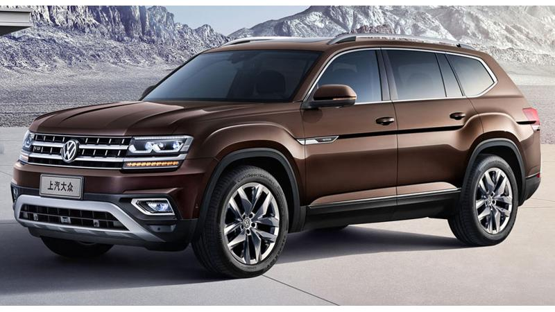 Volkswagen to launch its new full size SUV in China on March 22