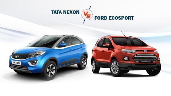 Tata Nexon vs Ford Ecosport