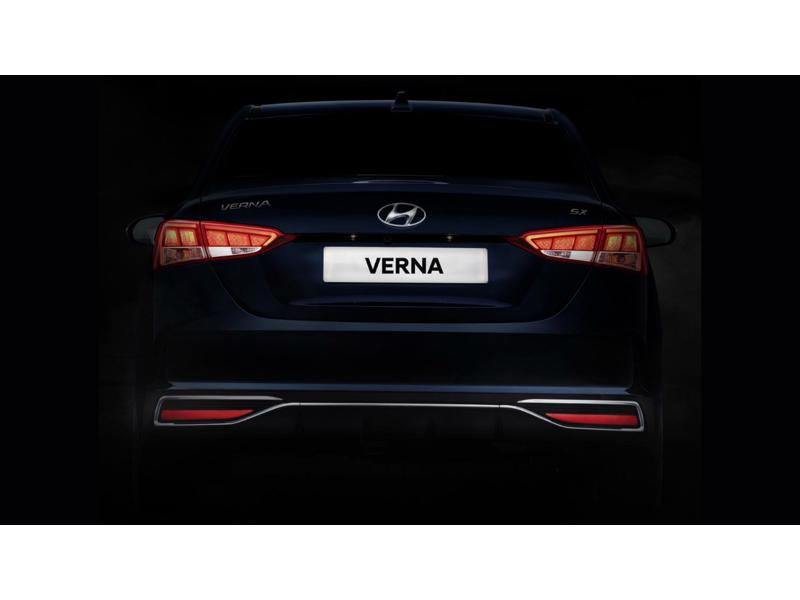 Hyundai Verna Facelift Teased