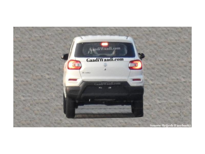 Maruti Suzuki S-Presso rear design leaked