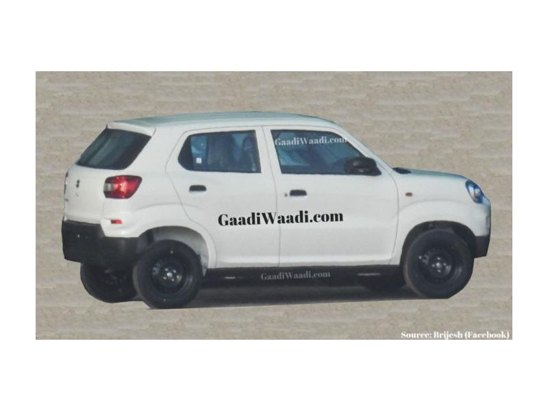 Maruti Suzuki S-Presso side profile leaked