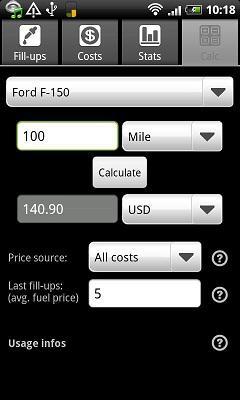 Fuellog - a car management app