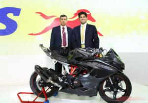 TVS Akula 310 likely to launch in October, 2016