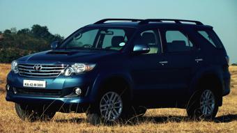 Toyota Fortuner Exterior profile