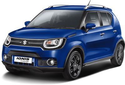 2016 Auto Expo: Maruti Ignis Concept details