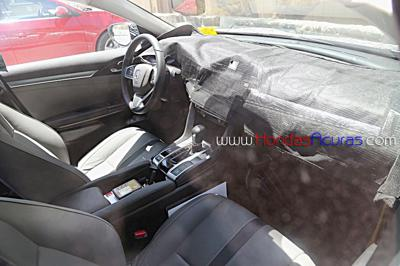 2016 Honda Civic Dashboard