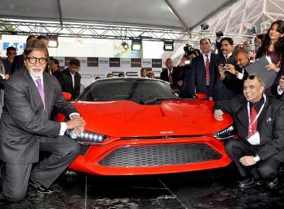 DC Design's Avanti supercar receives overwhelming response at auto expo 2012
