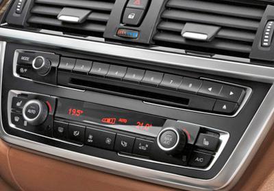 BMW multimedia console