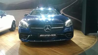 Mercedes AMG SLC 43 front