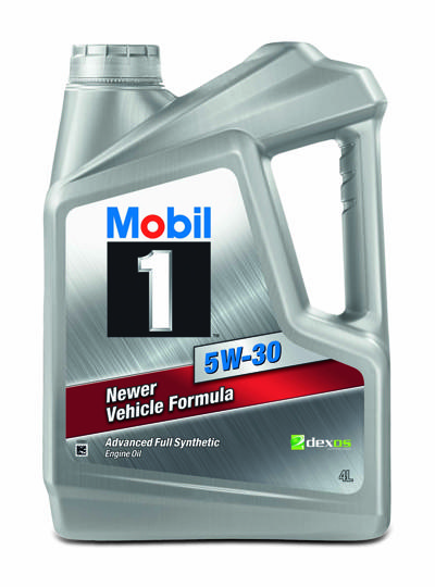 Mobil 1 5W 30 Newer Vehicle Formula