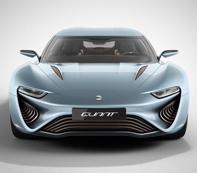 A super car that runs on salt water in europe