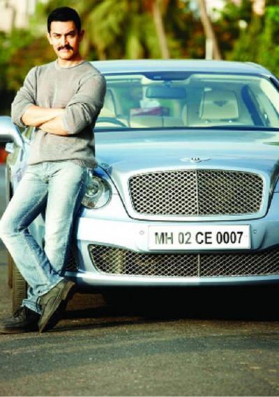 Aamir khans bentley continental flying spur