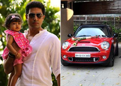 Aaradhya Bachchan gets Mini Cooper as birthday gift
