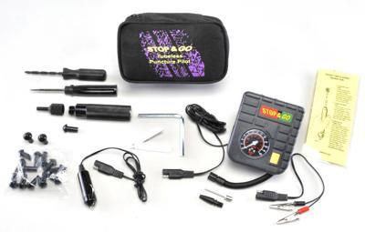 All-in-one car puncture repair kit
