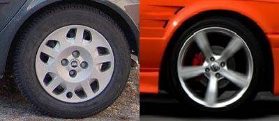 Alloy vs steel wheels