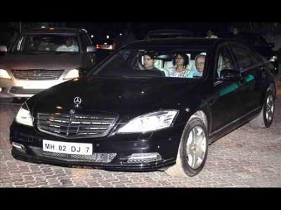 Amir Khans Mercedes Benz Guard
