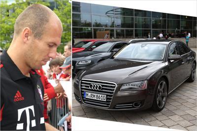 Arjen Robbens car