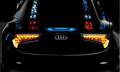 Audi oled lighting concept