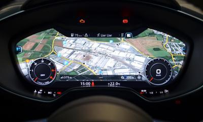 Audis virtual cockpit