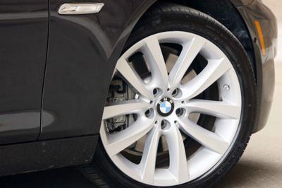 BMW run flat tyre