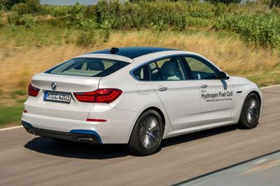 BMWs hydrogen powered 5-series gt