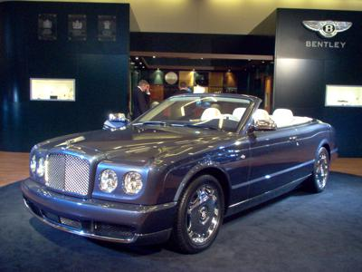 3) Bentley Azure