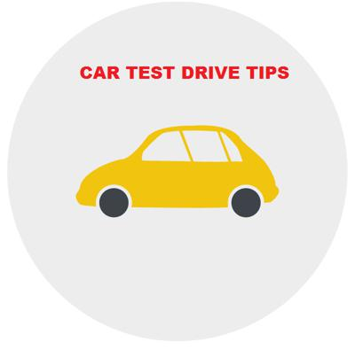 Car test drive tips
