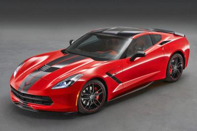 Carbon fibre - corvette stingray