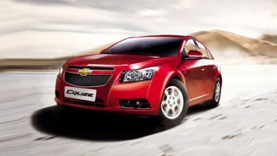 10) Chevrolet Cruze