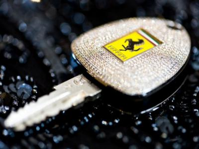 Diamond encrusted key