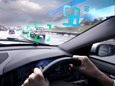 Eye tracking car technology