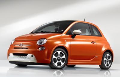 6) Fiat 500e