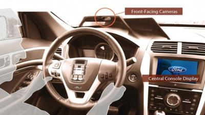 Ford mobii experimental in-car camera technology
