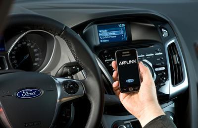 Fords v2v communication technology
