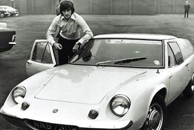George best with his car