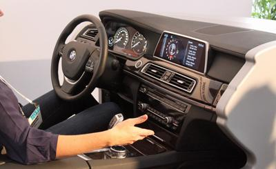 Gesture controls on car dashboards