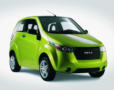 Green micro car