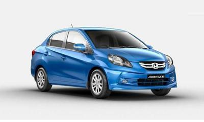 7) Honda Amaze