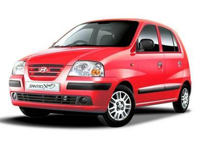 2) Hyundai Santro Xing
