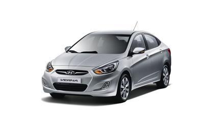 8) Hyundai Verna Fluidic