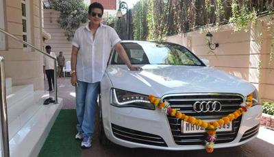 Jitendras romantic association with his audi a8