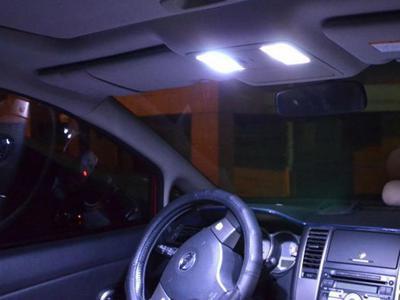 Led dome car lights