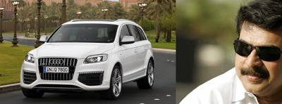 Mammootty and his audi q7