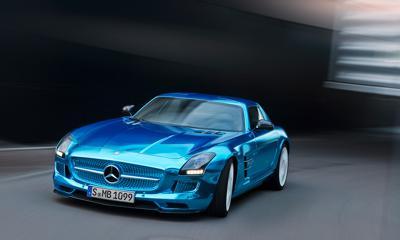 5) Mercedes-Benz E-Class Electric Drive